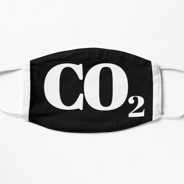 CO2, Kohlendioxid Flache Maske