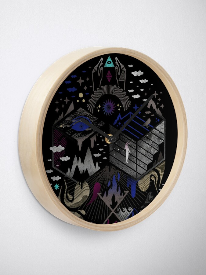 Alternate view of Yawning Hollow Clock