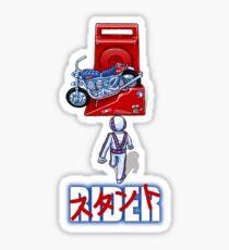 Stunt Rider Sticker