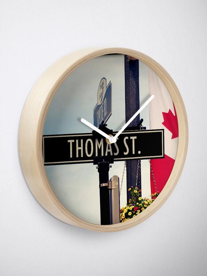 Alternate view of Thomas  Clock