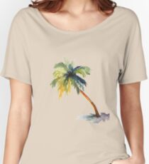 Palm Tree Women's Relaxed Fit T-Shirt