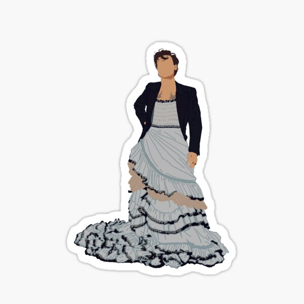 Harry Styles Vogue  Sticker