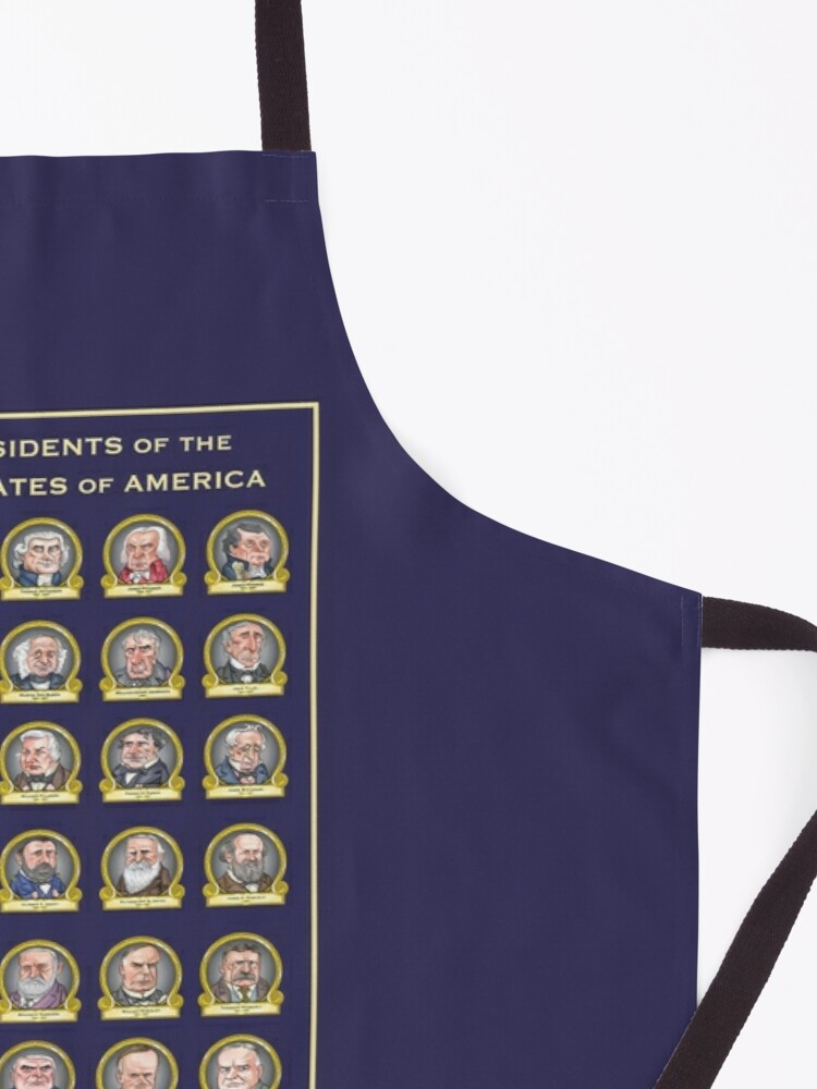 Alternate view of Presidents of the United States of America (Design Two) Apron