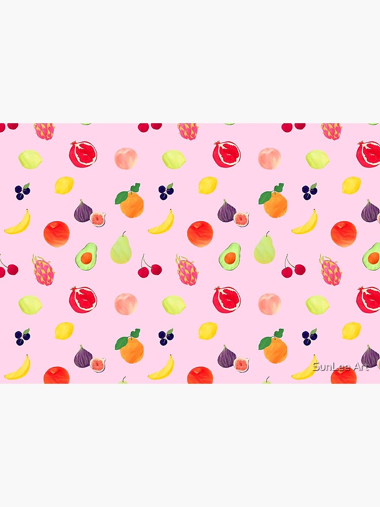 Pink Fruits by sunleeart