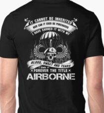 airborne infantry mom airborne jump wings airborne badge airborne brot T-Shirt