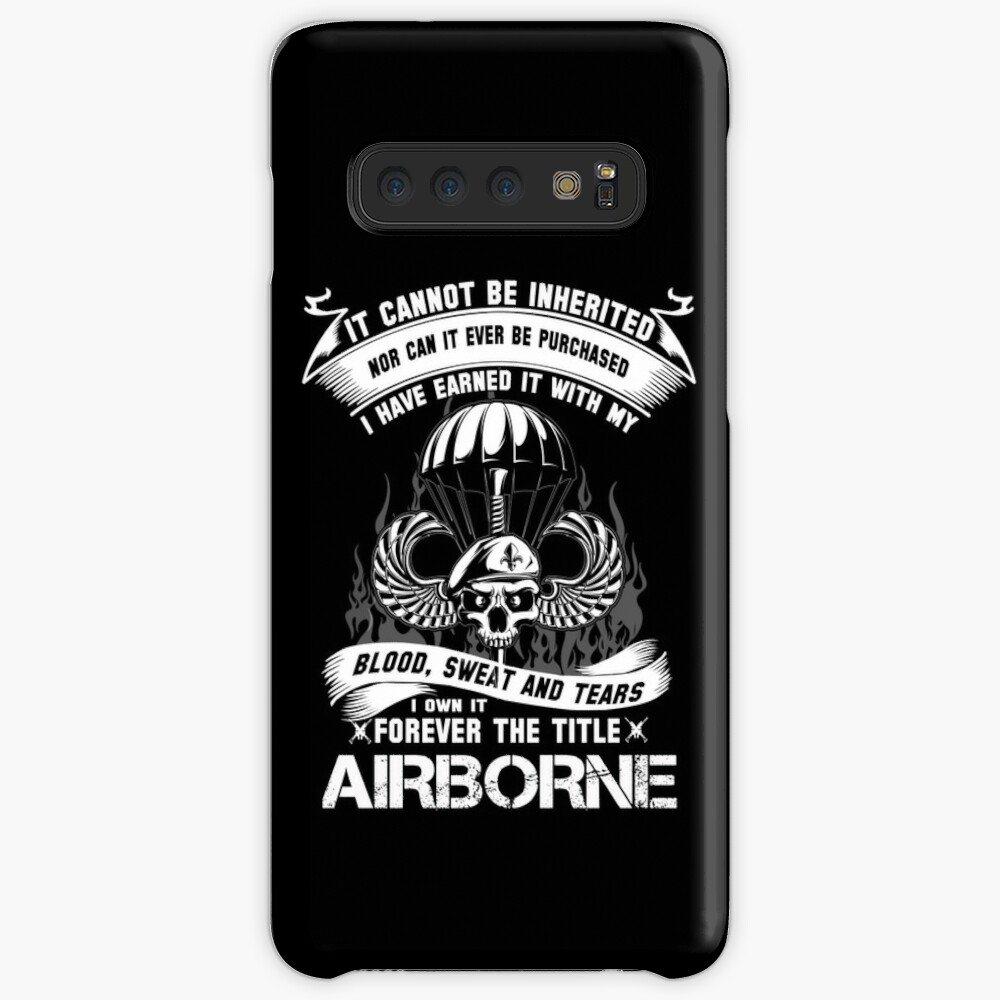 airborne infantry mom airborne jump wings airborne badge airborne brot Case & Skin for Samsung Galaxy