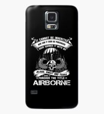 airborne infantry mom airborne jump wings airborne badge airborne brot Case/Skin for Samsung Galaxy