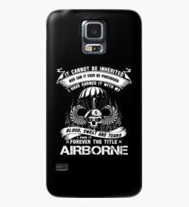 Airborne Infanterie Mutter Airborne Sprung Flügel Airborne Abzeichen Airborne Brot Hülle & Klebefolie für Samsung Galaxy