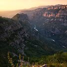 Verdon Sunset by Michael Breitung