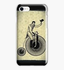 penny-farthing iPhone Case/Skin