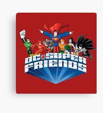 Super Friends Hero Canvas Print