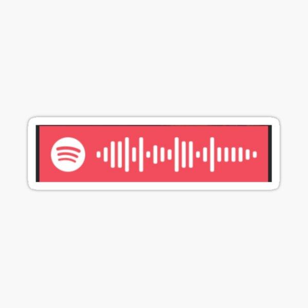 Alexis' Glee Playlist Spotify Code Sticker