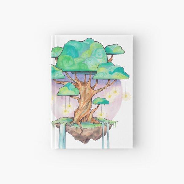 Magical Fairy Tree Island Hardcover Journal