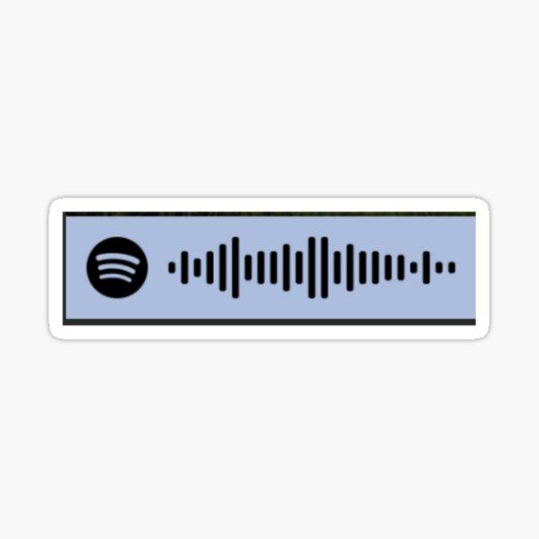Kendra's Glee Playlist Spotify Code Sticker