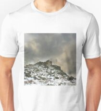 Ominous Clouds Over Beacon Hill, Leicestershire. T-Shirt