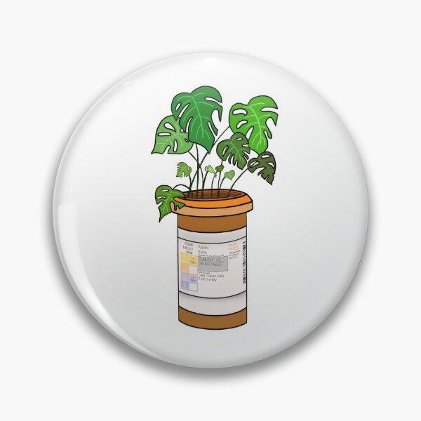 Usine de bouteille de pilule Badge