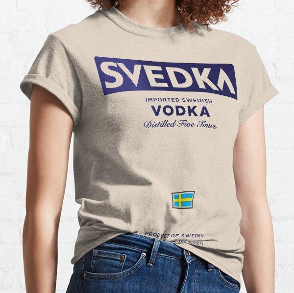 SVEDKA IMPORTED VODKA SWEDISH MADE  T Shirt