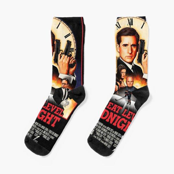 Threat Level Midnight Socks