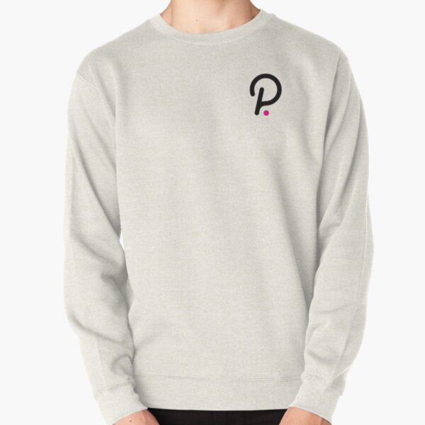 Polkadot Logo Small Pullover Sweatshirt