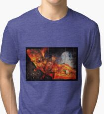 Going Batty In America Tri-blend T-Shirt