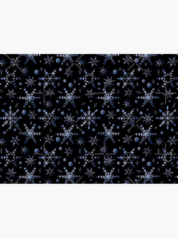 Snowflake Collection - Blue by PrintablesP