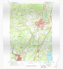 New York NY Saratoga Springs 129389 1967 24000 Poster