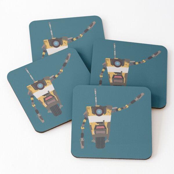 Claptrap Borderlands 2 Coasters (Set of 4)