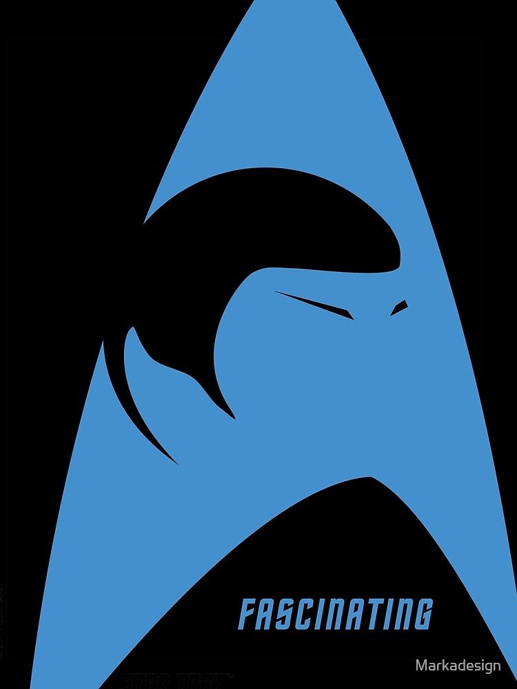 Spock Fascinating Star Trek Original Series by Markadesign