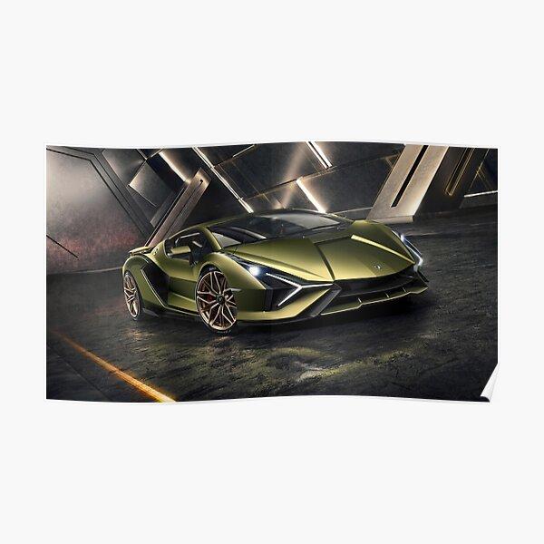 Lamborghini Sian Poster
