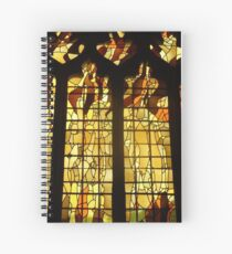 Cuaderno de espiral Autumn Stained Glass