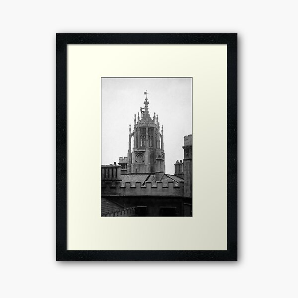 Daylight Ascent of the New Tower Framed Art Print