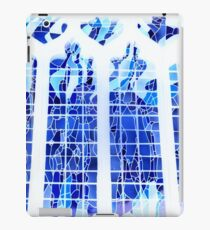 Blue Ice Stained Glass iPad Case/Skin