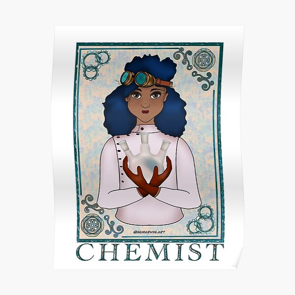 ABC's Types of Scientists: Chemist Poster