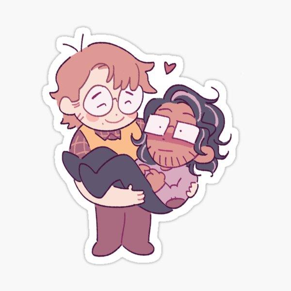 Jon and Martin TMA Sticker
