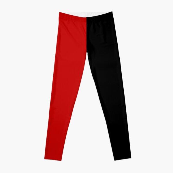 Harlequin (black and red) Leggings