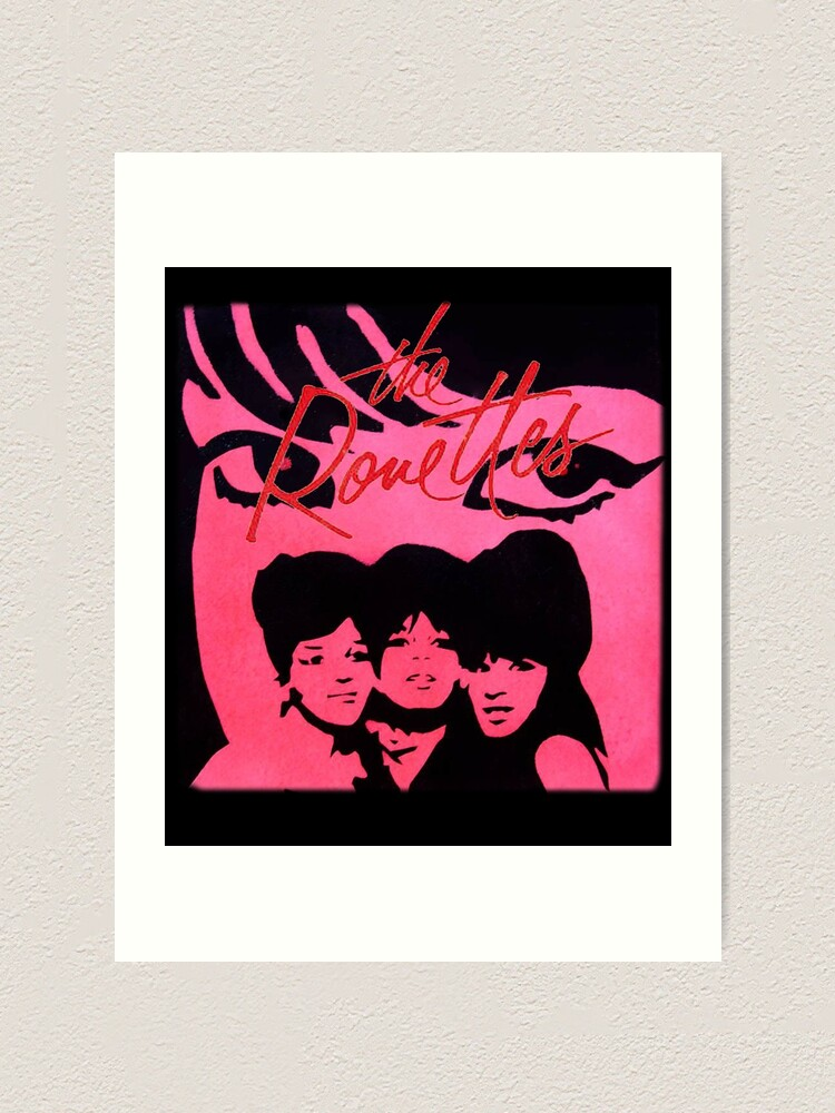 Art print poster The Ronettes 2 Girl Group
