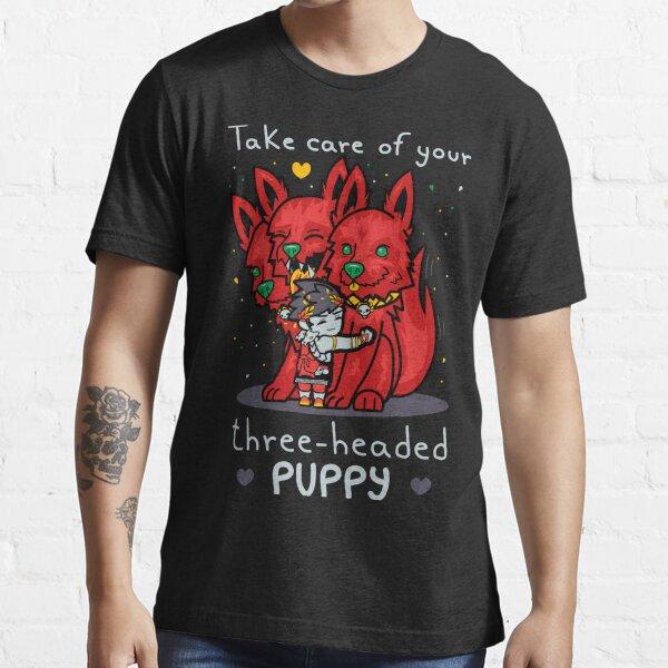Dreiköpfiger Welpe Essential T-Shirt