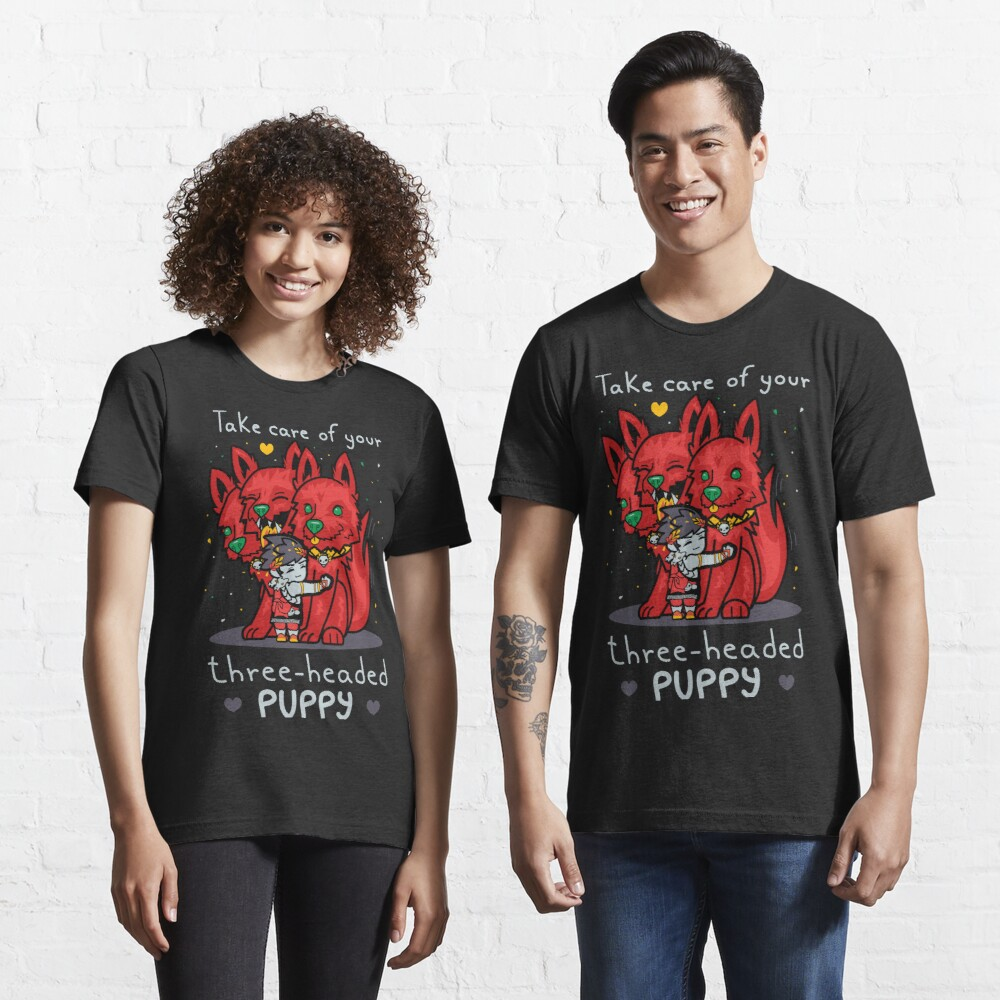 Three-headed puppy Essential T-Shirt