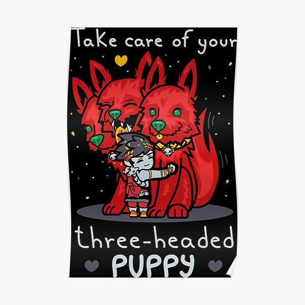Three-headed puppy Poster