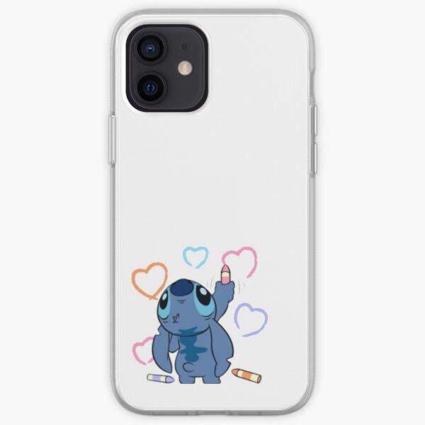 Stitch love  iPhone Soft Case