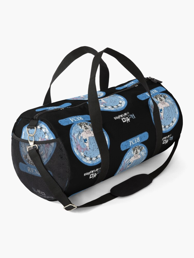 Alternate view of RE ZERO: REM CHIBI (GRUNGE STYLE) Duffle Bag