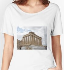 The Parthenon, Acropolis, Athens, Greece, UNESCO word heritage site Women's Relaxed Fit T-Shirt