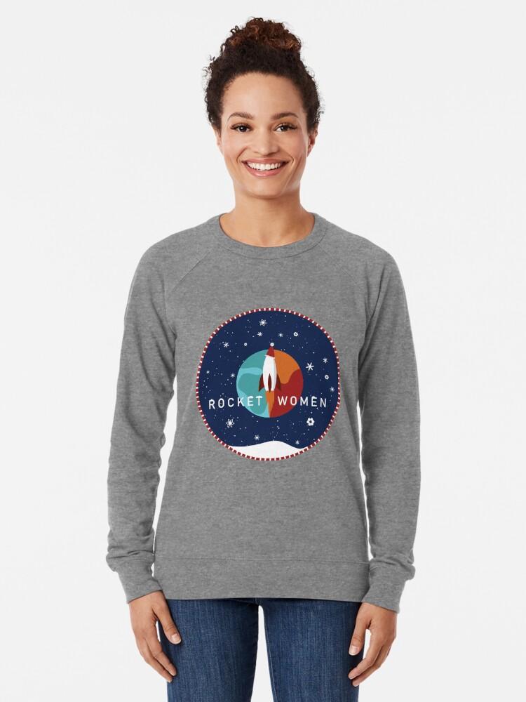 Alternate view of  Rocket Women - Holiday Jumper Lightweight Sweatshirt