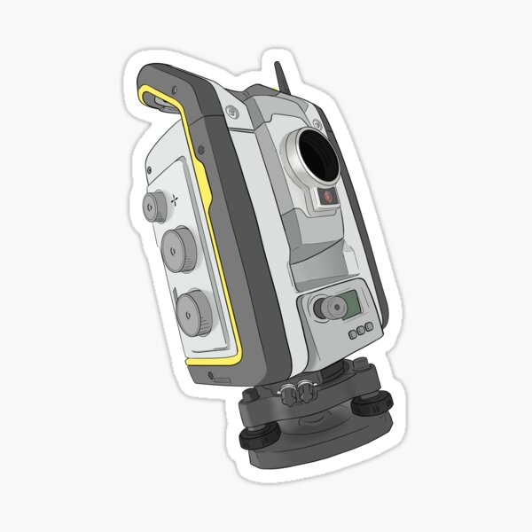 Total Station Sticker
