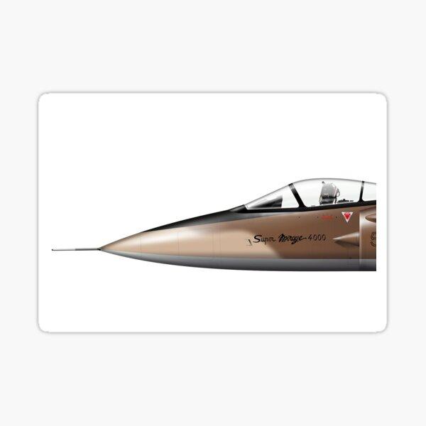 Dassault Mirage 4000: Cancelled French Superfighter  Sticker