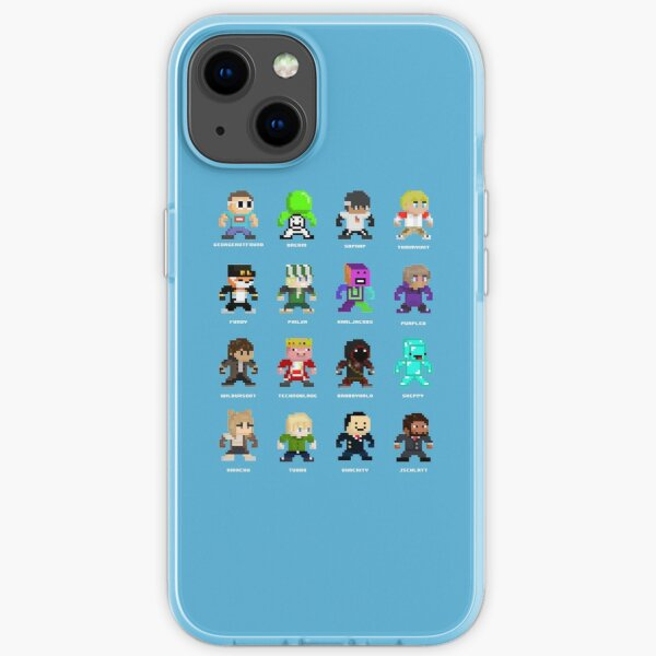 Dream SMP (Named) iPhone Soft Case