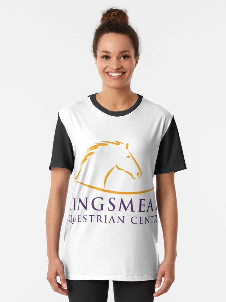 Alternate view of Kingsmead Equestrian Merchandise Graphic T-Shirt