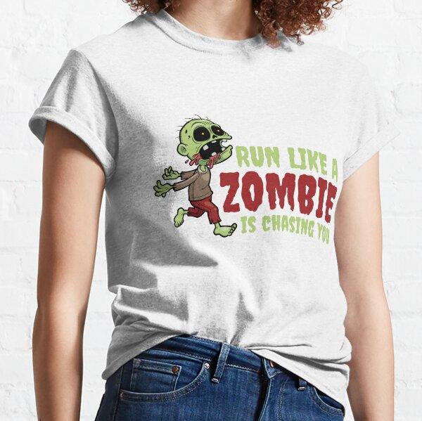 ZOMBIE HAND LADIES T SHIRT TEE FUNNY ZOMBIES WALKING DEAD COOL DESIGN JOKE TOP