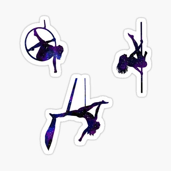 3 Sticker Pack - Galaxy Aerial Sticker