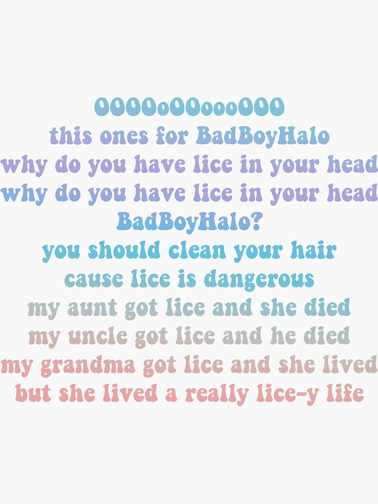 QuackityHQ - BadBoyHalo Lice Song by stormy34